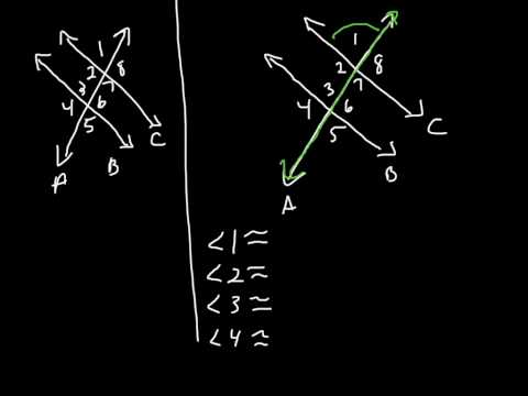 Pre-Algebra; 5.5 Parallel Lines and Transversals