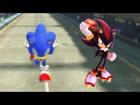 🌟 Sonic Vs Shadow | The Epic Battle