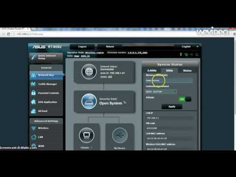 Setting up your Asus wireless router