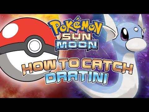 Pokemon Sun and Moon - How To Catch Dratini (Earliest way)