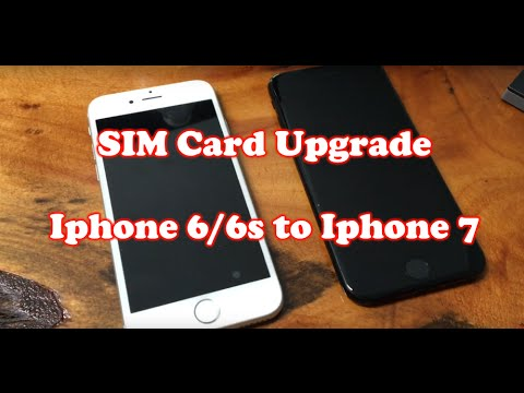How to Transfer SIM Card from iphone 6 / 6s to Iphone 7