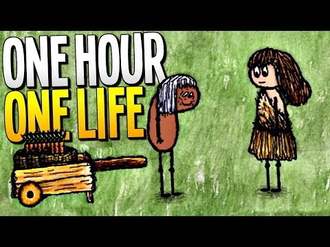 TEACHING OUR CHILDREN HOW TO SURVIVE AND REACHING THE END OF THE GAME - One Hour One Life Gameplay