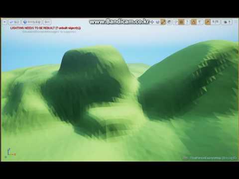 Low Poly Landscape Ue4 / Low Poly
