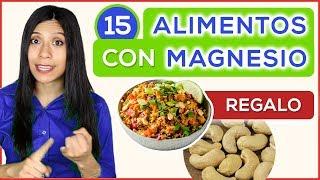 15 Alimentos ricos en MAGNESIO + Beneficios contra Enfermedades