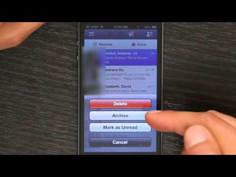 How to Delete Your Conversation on Facebook Mobile for the iPhone : Apple Software & Mac Tips