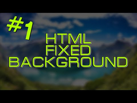 [TUTORIAL] HTML - Fixed background HD