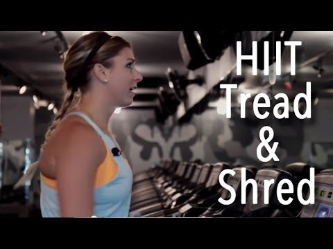 FIT   Barry's Inspired HIIT Treadmill Workout