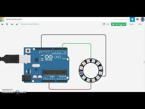 Arduino Laboratorio 5 Leds Adafruit NeoPixel