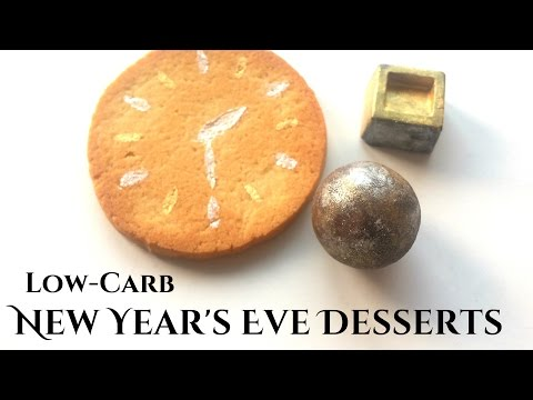 Keto New Year's Eve Desserts | Low-Carb Boozy Chocolates, Cocktails