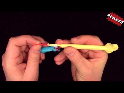 How to use a Mini Rainbow Loom Basics Rubber Band Ring
