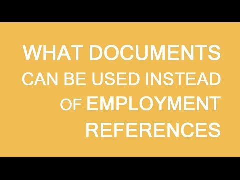 Documents to substitute references for immigration to Canada. LP Group
