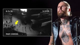 Surveillance video from the night of Aleister Black