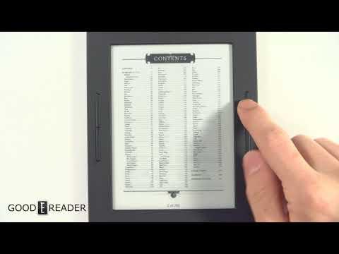 Barnes & Noble Nook Glowlight 3 PDF Experience