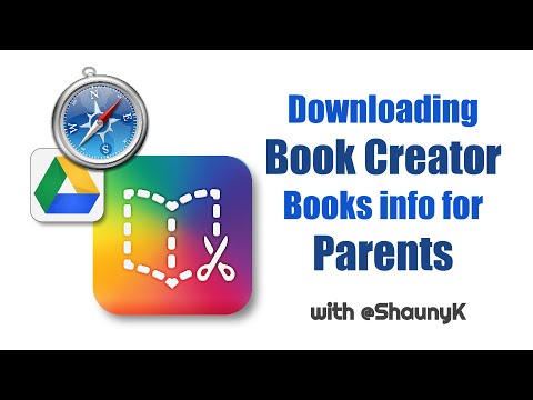 Downloading Book Creator Books - Info for Parents