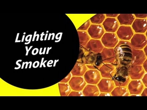 How To Light Your Smoker - Beekeeping For Dummies