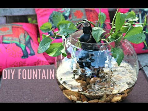 How to make a Table Top fountain in 2 min |Easy Fountain idea| DIY