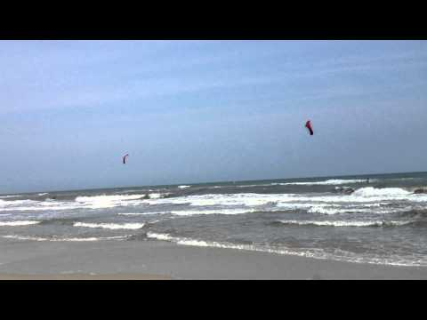 Hatteras Island Demo - Ocean riding with the HQ Matrixx