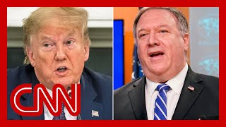 Trump says Pompeo asked him to fire inspector general
