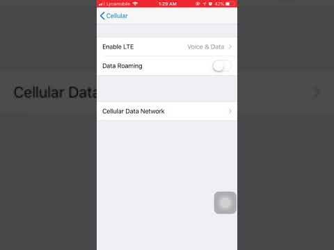 Iphone lycamobile Group messaging settings