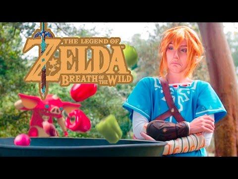 Cooking With Link [Legend of Zelda: Breath of the Wild Parody]