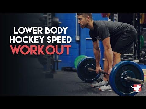 Lower Body Hockey Speed Workout 🏒⚡️
