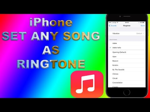 how to set ringtone in iphone ios10  2017 without jailbreak without itunes