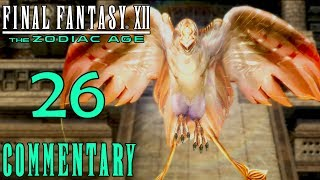 Final Fantasy XII The Zodiac Age Walkthrough Part 26 - Garuda & 1st Game Over (PS4 Gameplay)