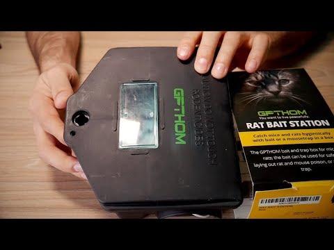 Safe for pets and children rat bait station GPTHOM