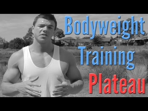 Bodyweight Training Plateau: Lack of Progress