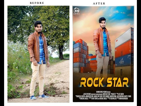 How To Create Awsm Movie Poster  In Photoshop CC 2014