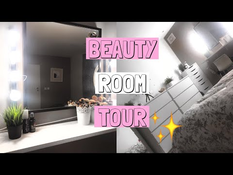 MAKEUP ROOM TOUR AESTHETICALLY PLEASING