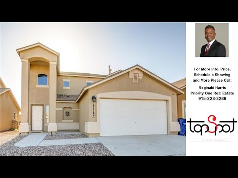 12145 Middle Fork Place, El Paso, TX Presented by Reginald Harris.