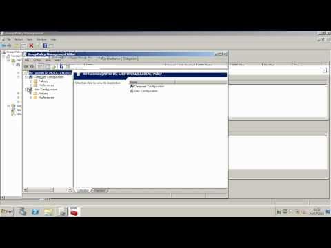 Folder Redirection - Windows Server 2008 R2