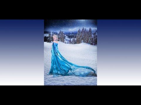 Amazing Frozen Queen Elsa Dress Costume DIY Tutorial