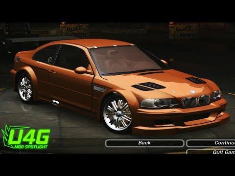 BMW M3 E46 Need For Speed Underground 2 Mod Spotlight U4G