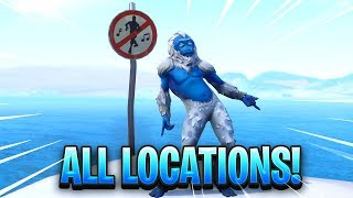 Download ″Dance in Different Forbidden Locations″ FORTNITE MAP LOCATION Video