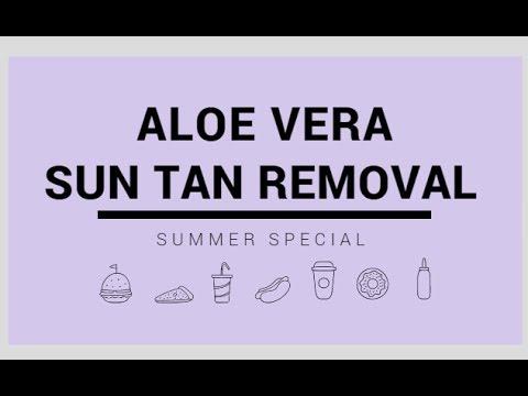 Aloe Vera Peel for Sun Tan Removal ( Summer Special)