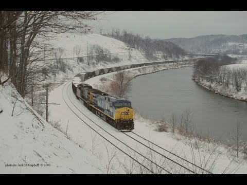 Part II, of Lunging locomotives finally grip the rails as CSX 419 stalls. Read story...