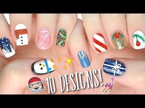 10 Easy Nail Art Designs for Christmas: The Ultimate Guide #4!