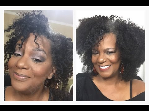 How to make your Natural Hair look FULLER in ten mins./Beautyrocksme