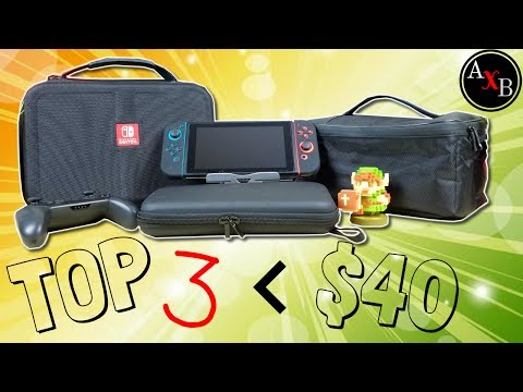 Top 3 Nintendo Switch Cases under $40