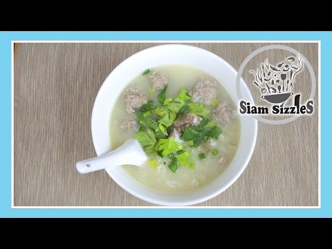 Rice Soup With Pork And Ribs Recipe (Khao-Dtom Moo)