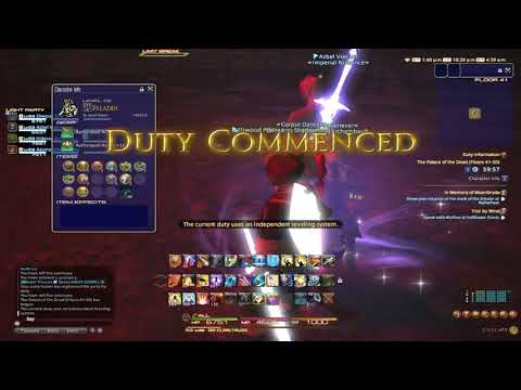 Final Fantasy XIV: Rey and Friends go through Palace of the Dead Part 4