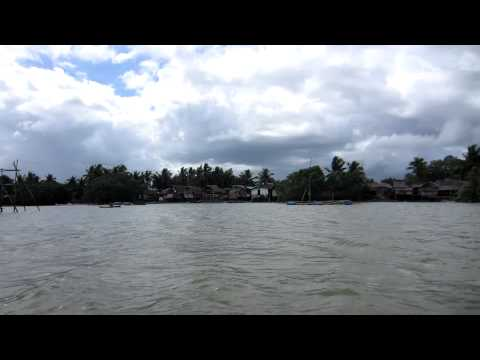 Ormoc Leyte Philippines boat ride to Mangroves