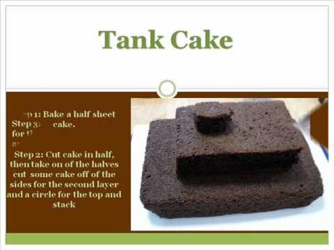 How to make a Tank Cake