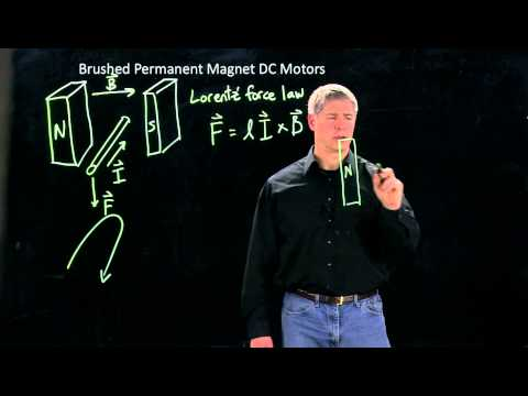 Intro to brushed permanent magnet DC motors, part 1/2 (Kevin Lynch)