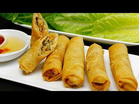 Vietnamese Egg Rolls/Crispy Spring Rolls Recipe (Chả Giò/ Nem Rán)