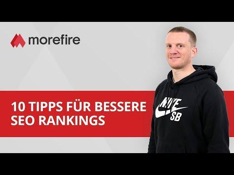 10 Tipps für bessere SEO Rankings | morefire