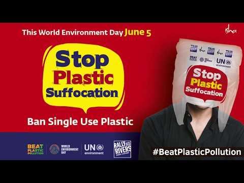 Ban Single-Use Plastic   Sadhguru on World Environment Day 2018