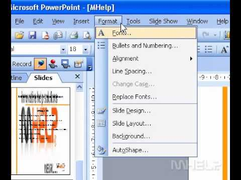Microsoft Office PowerPoint 2003 Set coordinates for objects relative to the slide corner or center